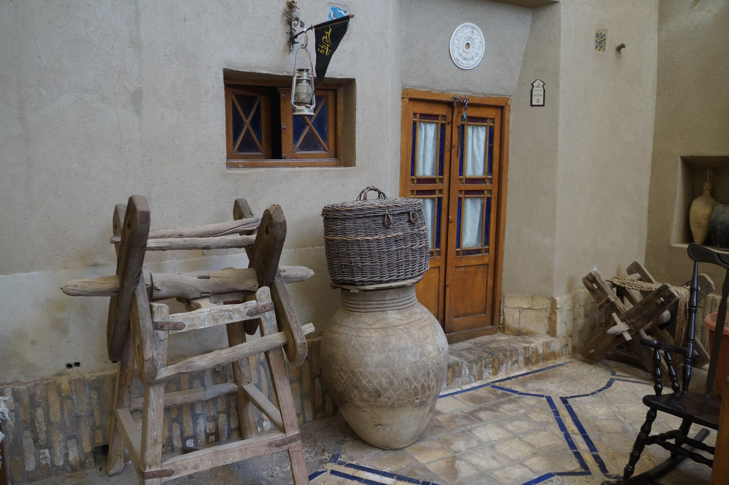 Как выглядит традиционный караван-сарай в Иране