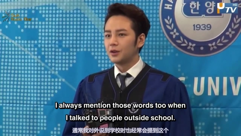 Jang Keun Suk graduation from Hanyang University