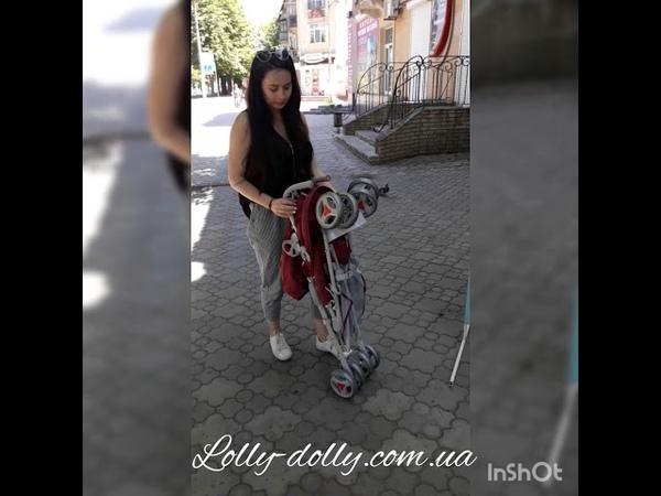 Прогулочная коляска-трость Tilly Rider(Тилли Райдер Котики) BT-SB-0002