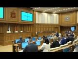 Выступление на закрытии весенней сессии Мособлдумы