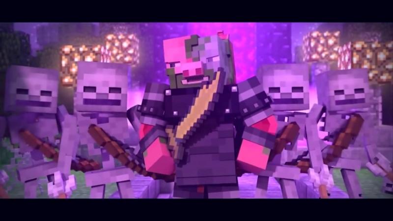 ЗАЧАРОВАННЫЙ - Майнкрафт Клип (На Русском) - Enchanted Minecraft Animation Parody Song RUS