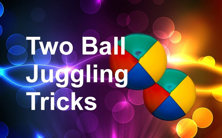 5 Easy Two Ball Juggling Tricks You Can Learn