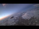 Экипажи истребителей-перехватчиков МиГ-31 морской авиации ТОФ выполнили ночную дозаправку в воздухе