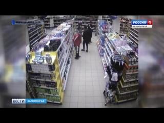 Россия-1 Нарьян-Мар HD Местные школьники все чаще воруют в магазинах(1)
