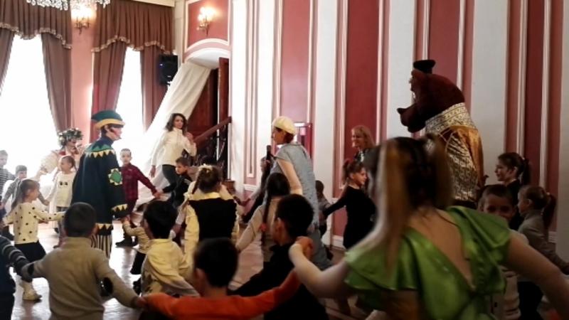 Масленица в Астраханском театре кукол 2018