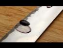 Японский кухонный нож Shibata Kotetsu и виноград