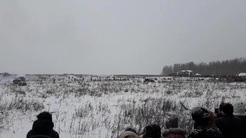реконструкция прорыва Ленинграда
