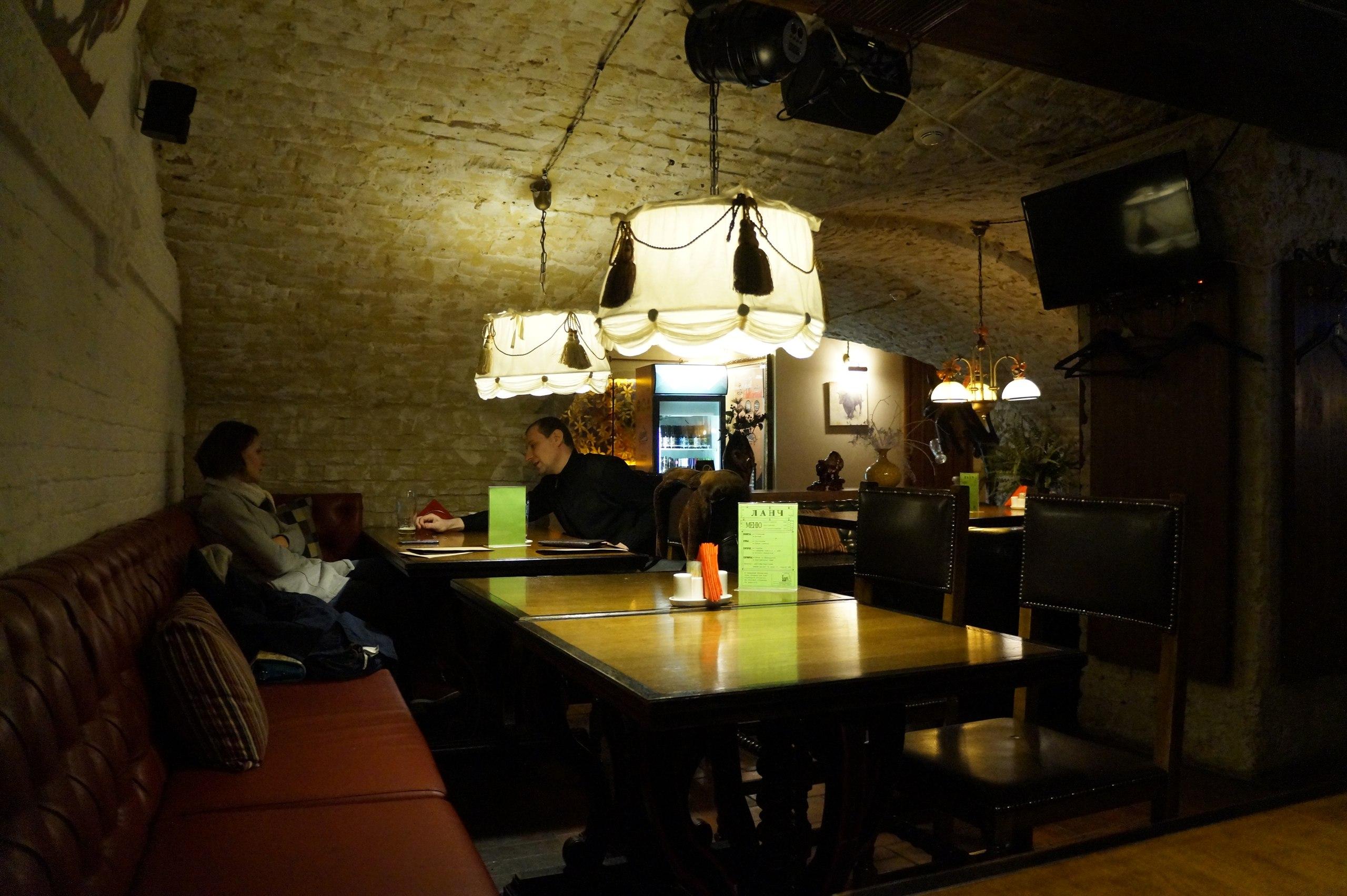 Обеды в гриль-баре