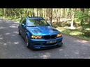 BMW e46 330D BLUE SMURF 4K Wagon