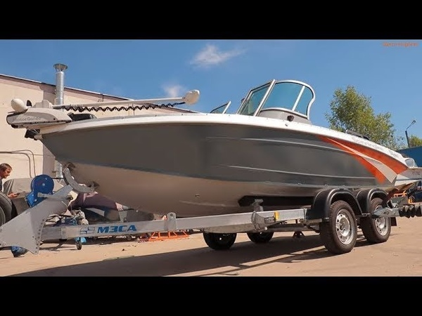 Новинка! Серийная лодка Spinningline 480
