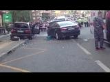Новое видео аварии с BMW в Новой Москве