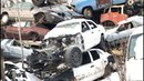 Visiting A Scrapyard. Police Cars, Military Trucks and More!