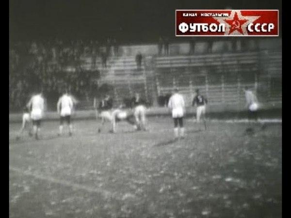 1966 Жальгирис (Вильнюс) - Политотдел (Ташкент. обл) 1-0 Чемпионат СССР. Класс