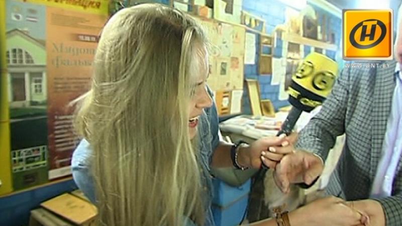 Пчёлы жалят корреспондента ОНТ