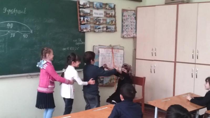 Инсценировка сказки Репка Дачновская школа