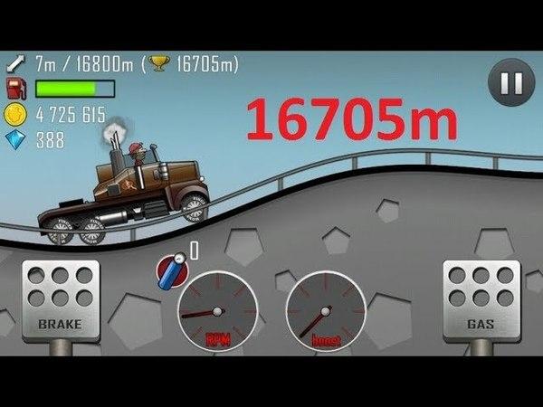 Hill climb racing Highway - 16700 meters