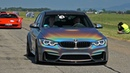 BMW M3 F80 with M Performance Exhaust