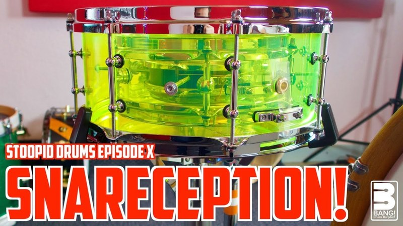 SNARECEPTION | Stoopid Drums Episode X