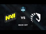 NAVI vs Liquid @ESL One Genting 2018
