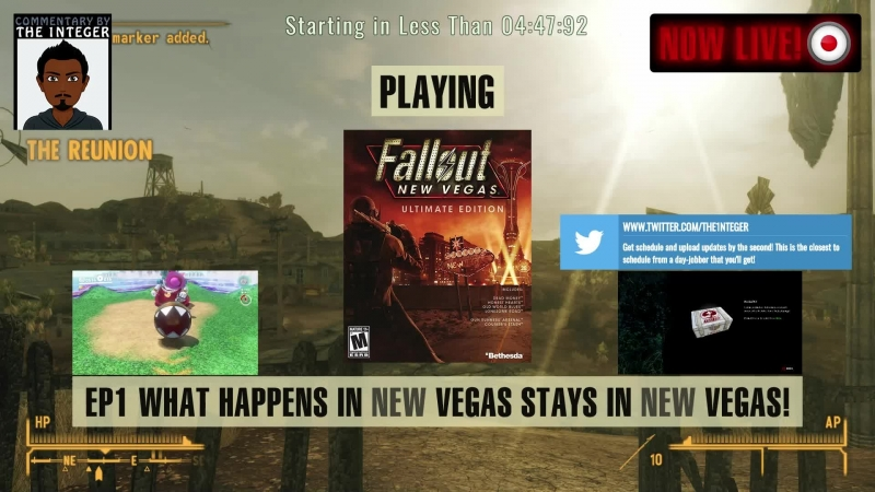 War, War never changes. Lore friendly modded New Vegas 95% Blind Hardcore! - Ep 1 (Take 2)