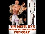Vin Diesel xXx Return Of Xander Cage Fur Coat