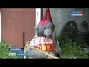 Новосибирская пенсионерка к Чемпионату мира по футболу превратила свой палисадник в фан-зону