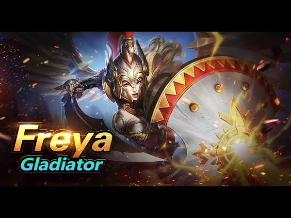 Mobile Legends: Bang Bang! Freya New Skin | Gladiator |
