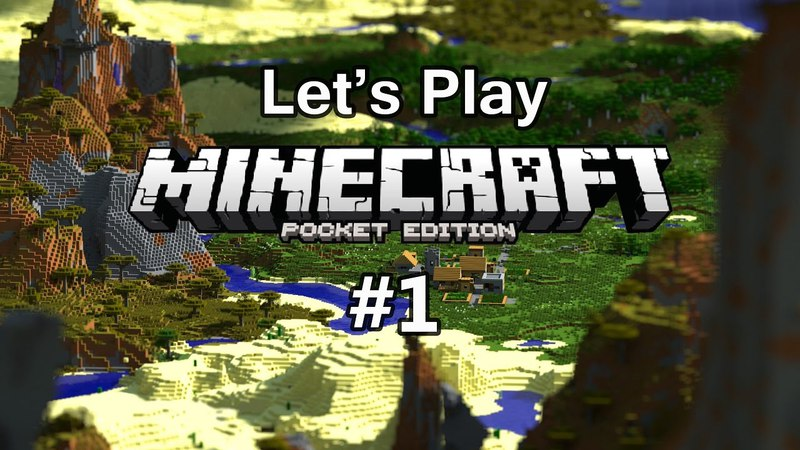 Let's Play MinecraftPE 1
