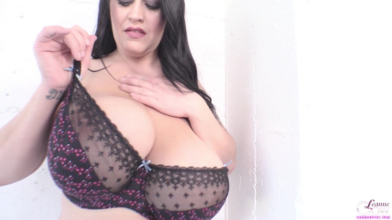 Leanne Crow Floral Lace 1 Big natural Tits, Huge Boobs,
