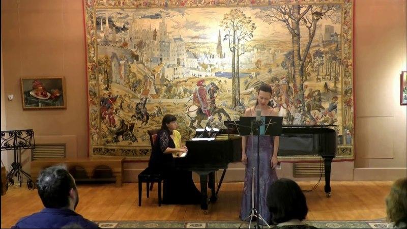 М.Мусоргский. Песни и пляски смерти - Наира Асриян (меццо-сопрано), Анна Крымская (фортепиано)