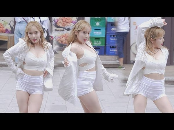 [배드키즈 Bad kiz 솔비] 딱 하루! [버스킹 in 홍대] 직캠 Fancam kpop 180520