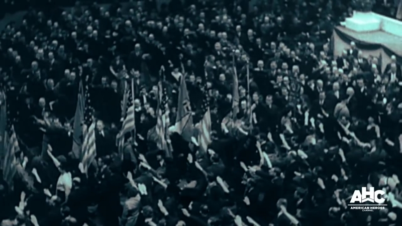 The Nazi Rally in Madison Square Garden