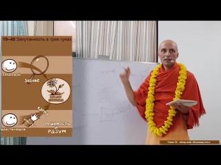 факторы побуждающие к деятельности и ее составляющие (фрагмент 47 лекция. Бхагавад-Гита.18 глава (Вриндаван, 25.01.2018) Ватсала