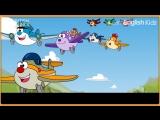 Ten little aeroplanes - Nursery Rhymes Kids Songs