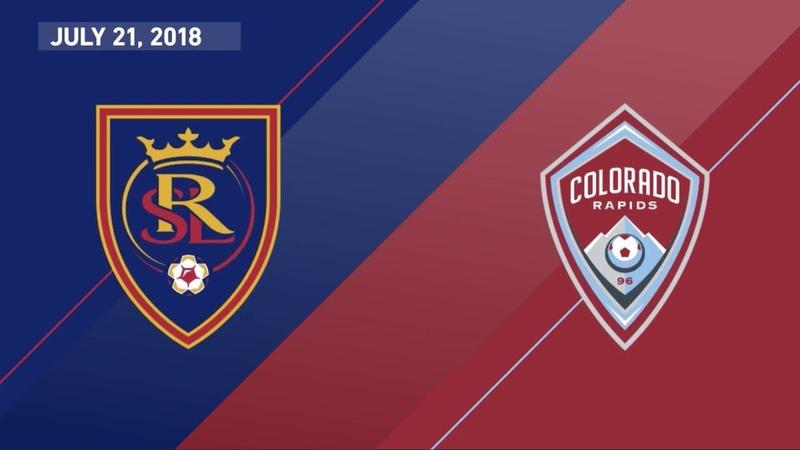 HIGHLIGHTS: Real Salt Lake vs. Colorado Rapids | July 21, 2018