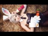 Teemo Riven Battle Bunny Cosplay ( Сексуальная, Ню, Модель, Nude 18+ ) - Приватное