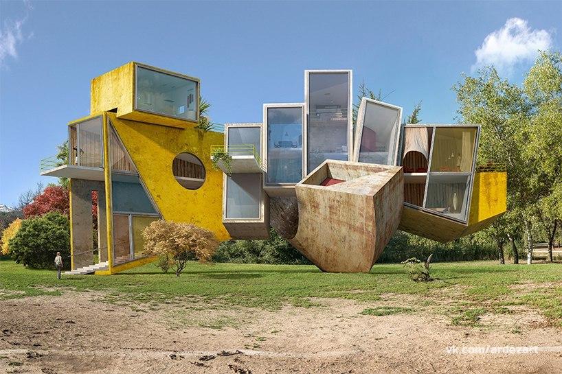 Концепты испанского архитектора
