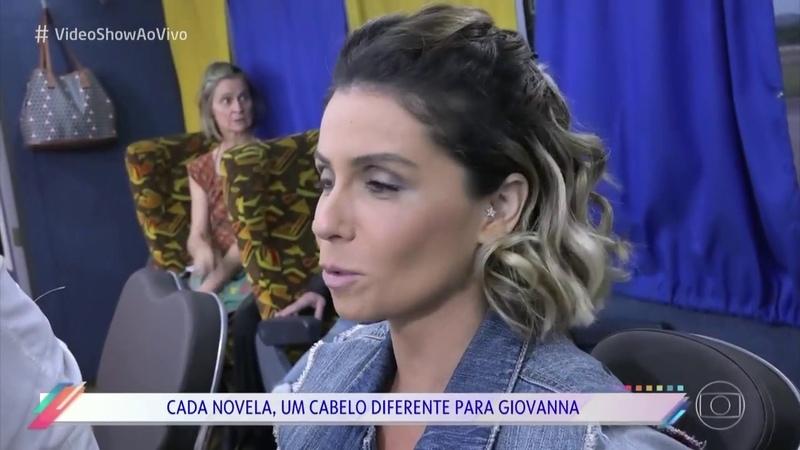 Giovanna Antonelli e Fernando Torquatto falam sobre caracterização de Luzia em Segundo Sol