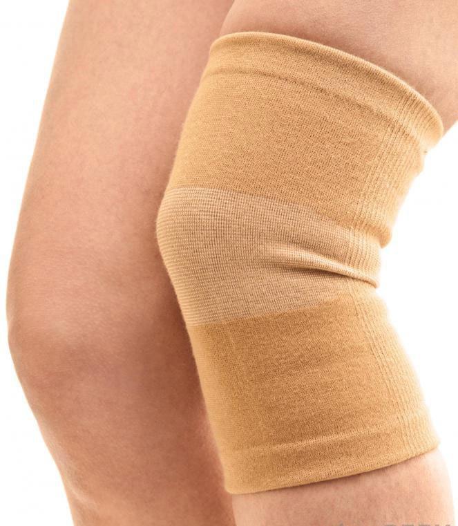 Эластичная компрессионная повязка как шина или скоба