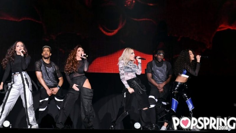 Little Mix - Hair Feat.Sean Paul (POPSPRING Tokyo 2018) HD