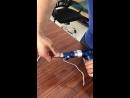 Синяя многофункциональная дрель