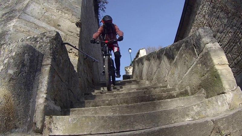 Descente Urbaine : Escaliers / Wheel... ! :D Rockrider 520s