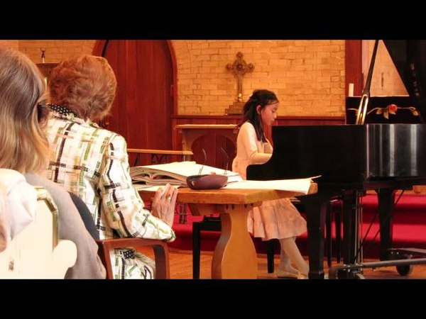 Andrea Yeh performs Musical Sketch No.19, Andrej H. Klassen, Андрей Классен, Музыкальные эскизы