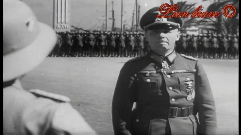 Африканский корпус Роммеля в Триполи. 1941 год