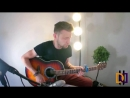 Double Damage - LOCKED OUT OF HEAVEN — BRUNO MARS ACOUSTIC GUITAR COVER