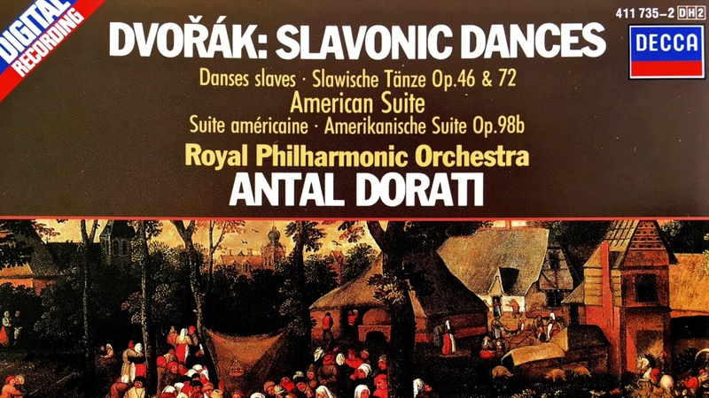 Dvořák - Slavonic Dances, Suites, Waltzes.. (reference recording : Antal Dorati)