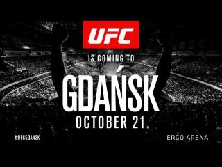 UFC Fight Night 118: Cerrone vs. Till  (Прямой эфир 21 октября в 18:30 МСК)
