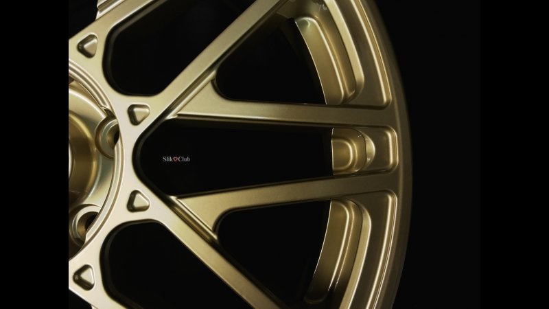 Кованые диски Слик L737 Золото. Slik Forged wheels L737 Gold