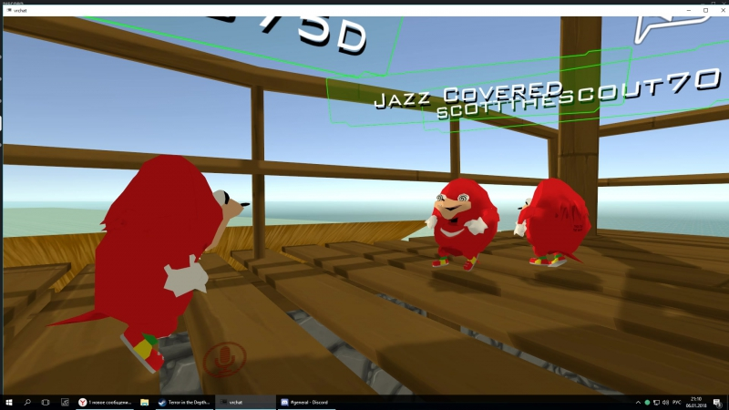 It's a TRAP Knuckles