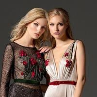 Логотип Вальс-Fashion свадебные и вечерние платья